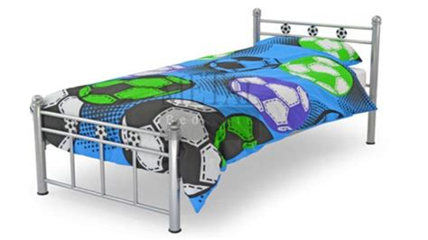 metal toddler bed frame single kids soccer metal classic bed frame homegenies