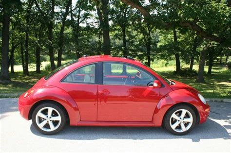 volkswagen hatchback 2006 sell used 2006 volkswagen beetle tdi hatchback 2 door 1 9l