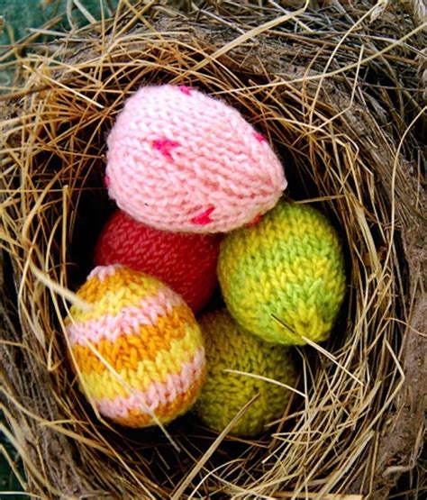 how to knit a easter 26 diy easter egg ideas