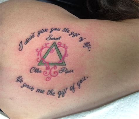 tattoo quotes for child this would be very nice for girls and a boy to do the