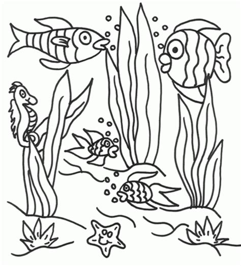 underwater themed coloring pages ocean scenes coloring pages coloring home