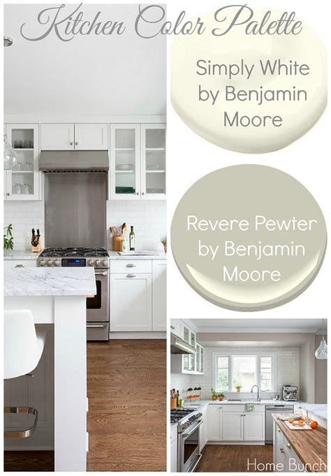 benjamin simply white kitchen cabinets whole house paint color ideas home bunch interior design