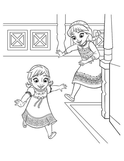 baby elsa coloring page disegni da colorare di frozen giochi di frozen