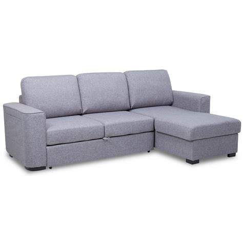 corner fabric sofa bed ronny fabric corner chaise sofa bed with storage next