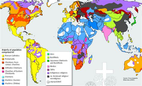 map world religions born in the right place at the right time southern skeptic