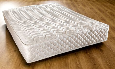 single bonnell memory mattress groupon goods