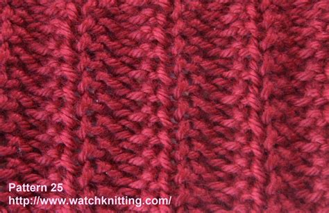 knitting pattern from image watch knitting