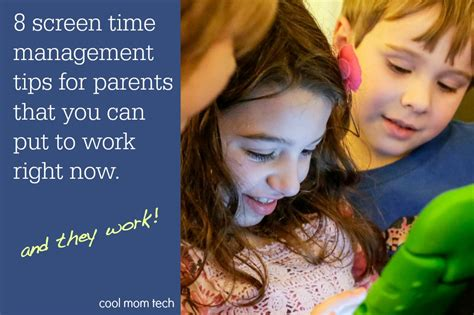 screen time in the time a parenting guide to get and safe books 8 smart tips for managing screen time right now