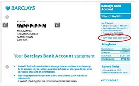 Barclays Bank Address Finder How To Generate An Iban Barclays