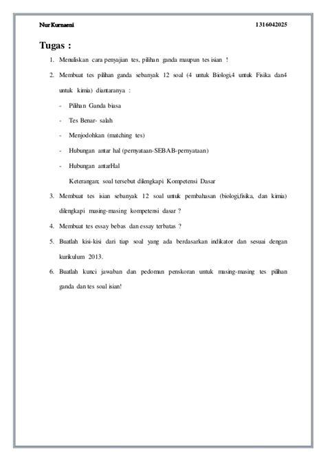 cara membuat soal essay flash asessment pembuatan soal