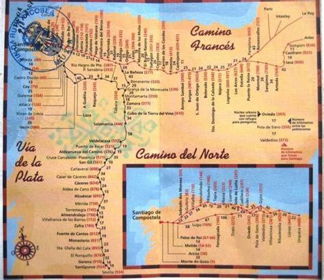 camino de santiago pilgrimage route camino de santiago or way of are a collection
