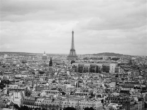 old paris pictures old paris skyline blck and white shot of the paris