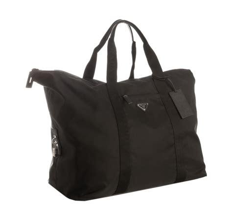 Prada Pebbled Leather Weekend Bag by Prada Leather Weekend Bag