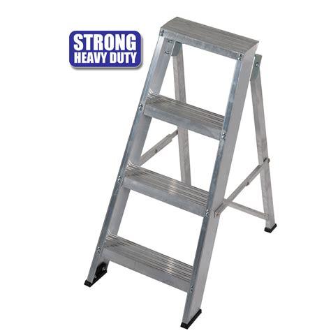 Heavy Duty 3 Step Stool by Heavy Duty Light Weight Step Ladder Ladders