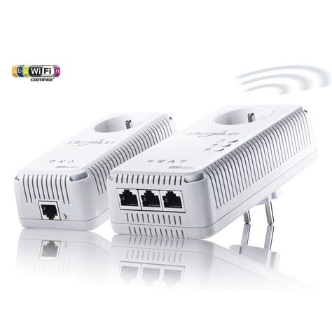 De Surveillance Sans Fil 1829 by Pack De 2 Adaptateurs Cpl Devolo Dlan 500 Av Wireless