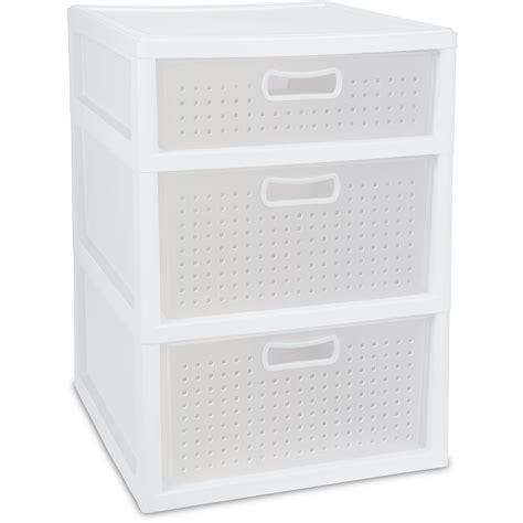 sterilite 3 drawer wide weave tower white sterilite 3 drawer storage best storage design 2017