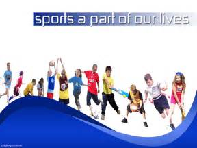 Free sports a part of our lives backgrounds for powerpoint sports