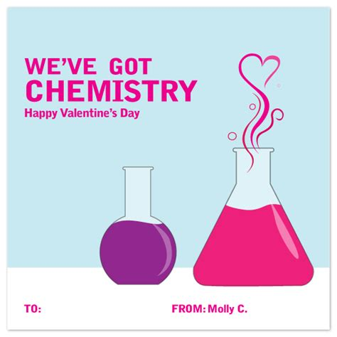 chemistry valentines s day chemistry at minted