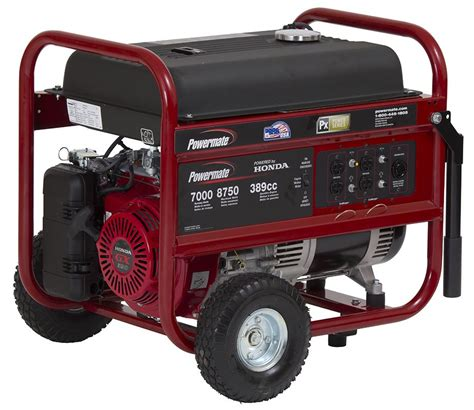 powermate 174 portable generator with honda engine 7 000