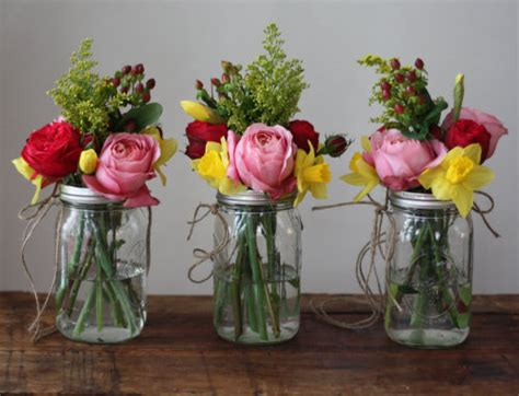 mason jar flower arrangements diy ideas mason jar crafts