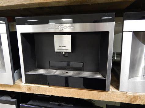 inbouw koffiemachine met vaste wateraansluiting siemens koffiemachine professionele apparaten voor de
