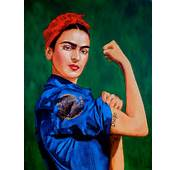 Frida The Riveter II Is By Painter Maria Kane LA Peeps Can See More