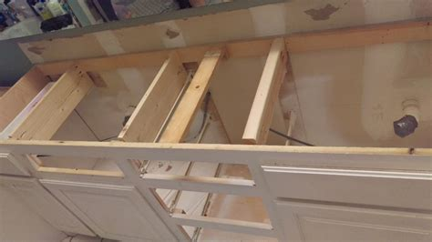 installing a bathroom countertop how to make a wooden countertop for your bathroom splendry