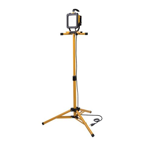 Work Light Tripod by All Pro 2500 Lumen Led Tripod Stand Work Light Wl2540lst