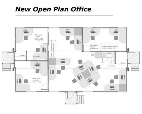House Plans With Office by Open Plan Office Floor Plans Home Deco Plans