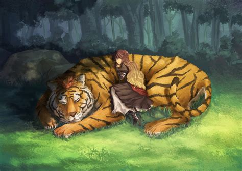 anime wallpaper tiger toramaru shou tiger zerochan anime image board
