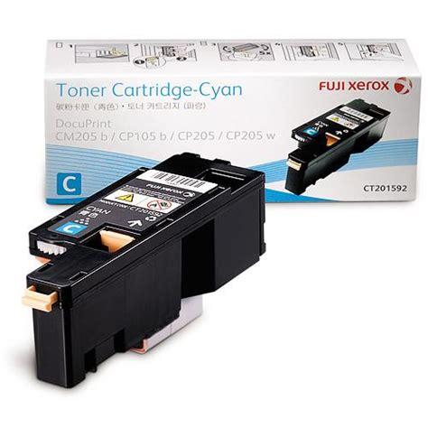 Tinta Fuji Xerox Docuprint Cm205b fuji xerox docuprint cyan toner ct201592