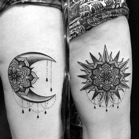 matching sun and moon tattoos image result for sun and moon matching bnr mhc