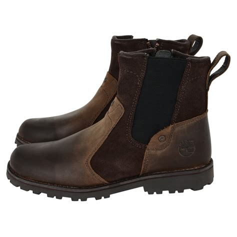 Timberland Brown timberland boys two toned brown boots timberland from