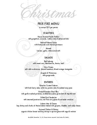 christmas eve menus buffet buffet menu menus