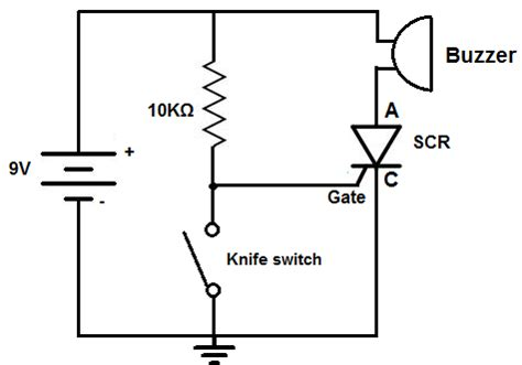 alarm circuit diagram wiring diagram with description