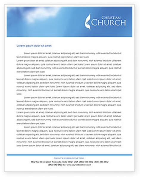 free church letter templates belfry letterhead template layout for microsoft word