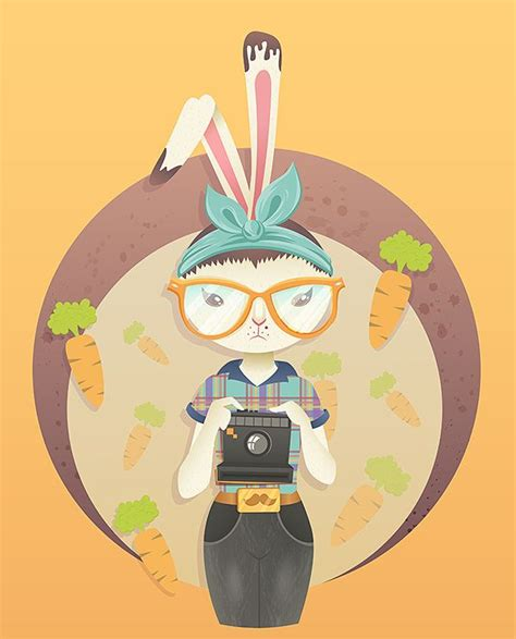 tutorial illustrator advanced how to vector a hipster bunny in adobe illustrator tuts