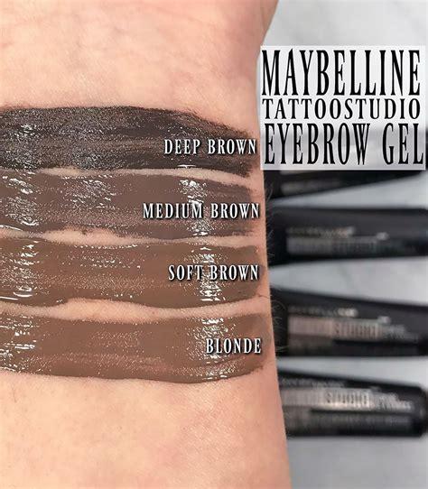 tattoo eyebrows maybelline boots how to wear maybelline tattoostudio waterproof eyebrow