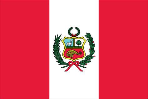PERU FLAG w/SEAL   Liberty Flag & Banner Inc.