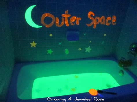 7 Ways To Create An Interesting Bath by Glowing Bath Play Ideas Growing A Jeweled