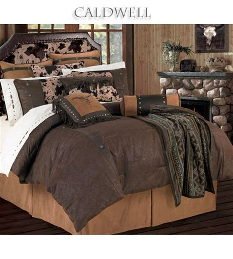 leather bed sheets caldwell western bedding comforter set features a rich