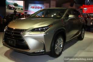 lexus nx 300h front three quarter at the ci 2014