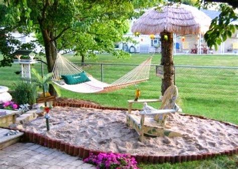 beach in backyard top backyard and garden decor ideas for coastal style