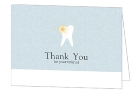 dental referral card template referral thank you letter dentist patient referral thank