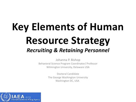 The Key Elements Of Great Resources by Key Elements Of Human Resource Strategy