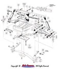 front suspension upper club car parts amp accessories