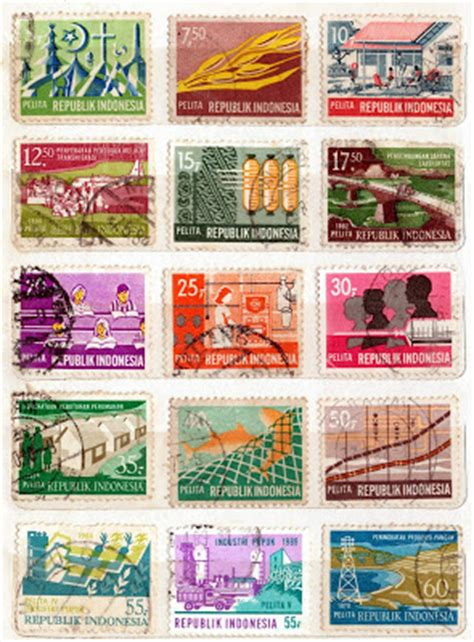 asal usul perangko langkahmantap