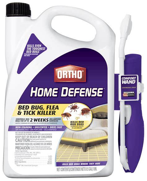 ortho home defense bed bug flea tick killer