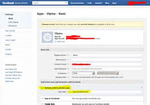 On the top right corner should take your users to facebook login page