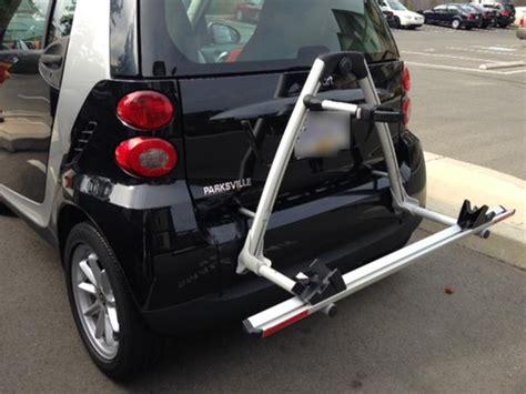 smart car bicycle rack by thule central nanaimo nanaimo